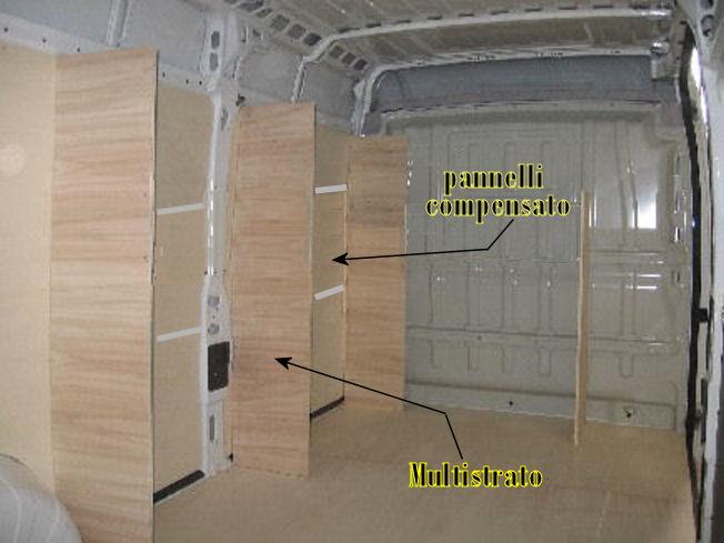 Rivestire le pareti dei fondi mobili
