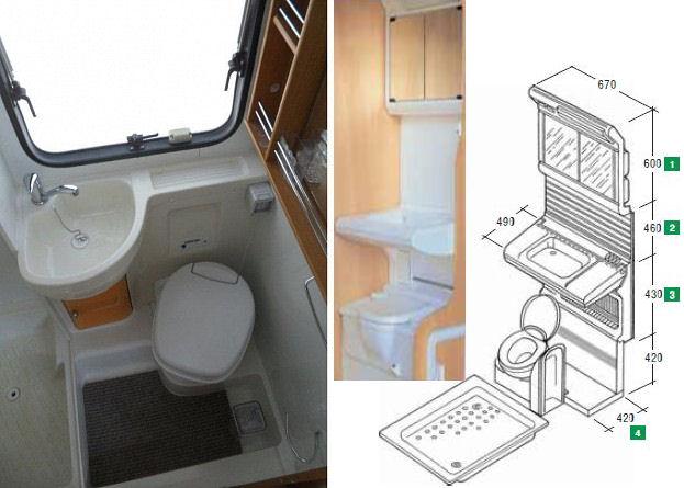 Cabina Bagno Per Camper : Camper faidate i servizi
